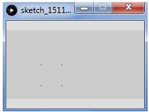 Processing menggambar banyak titik