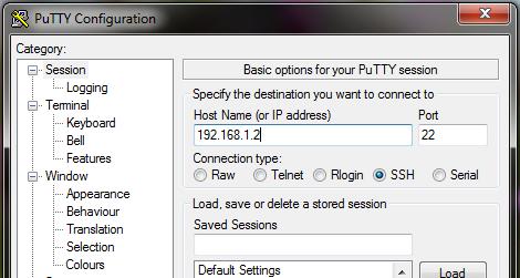 Putty SSH Remote Client