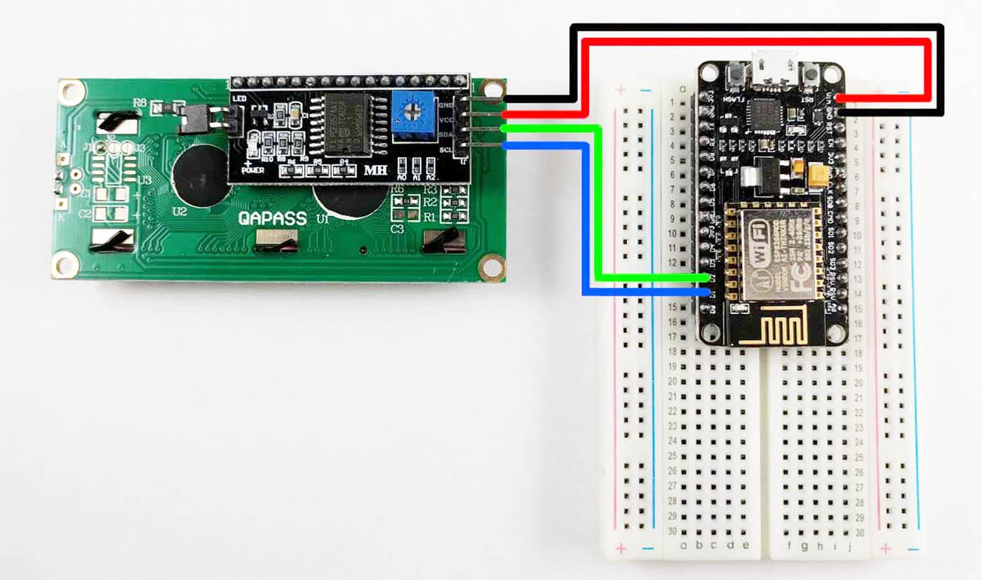 Arduino - I2C LCD Wiring Pengkabelan