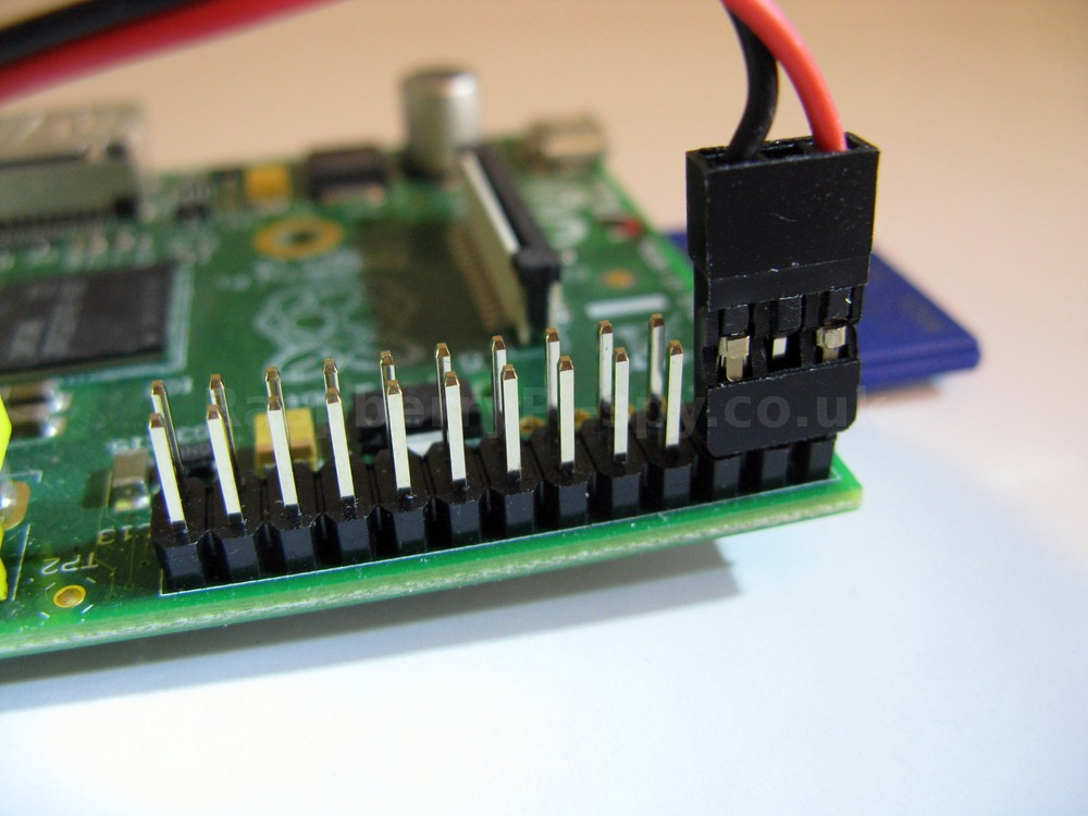 Raspberry Pi GPIO Powered