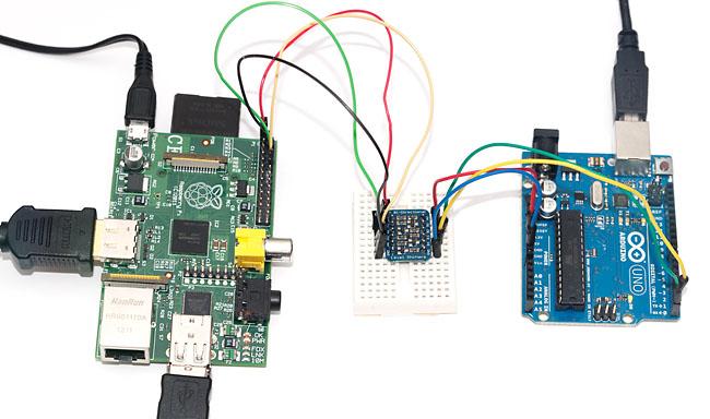 Raspberry Pi Logic Converter