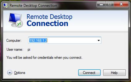 remote desktop raspberry pi