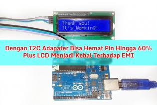 Arduino 2 Pin LCD with I2C Adapter - cover