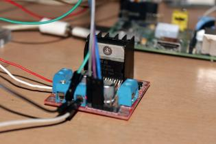 Interfacing DC Motor Driver L298N Raspberry Pi