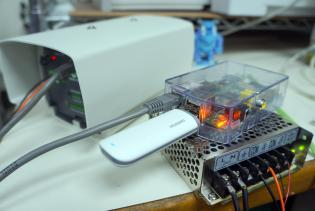 Raspberry Pi with E173 GSM Modem