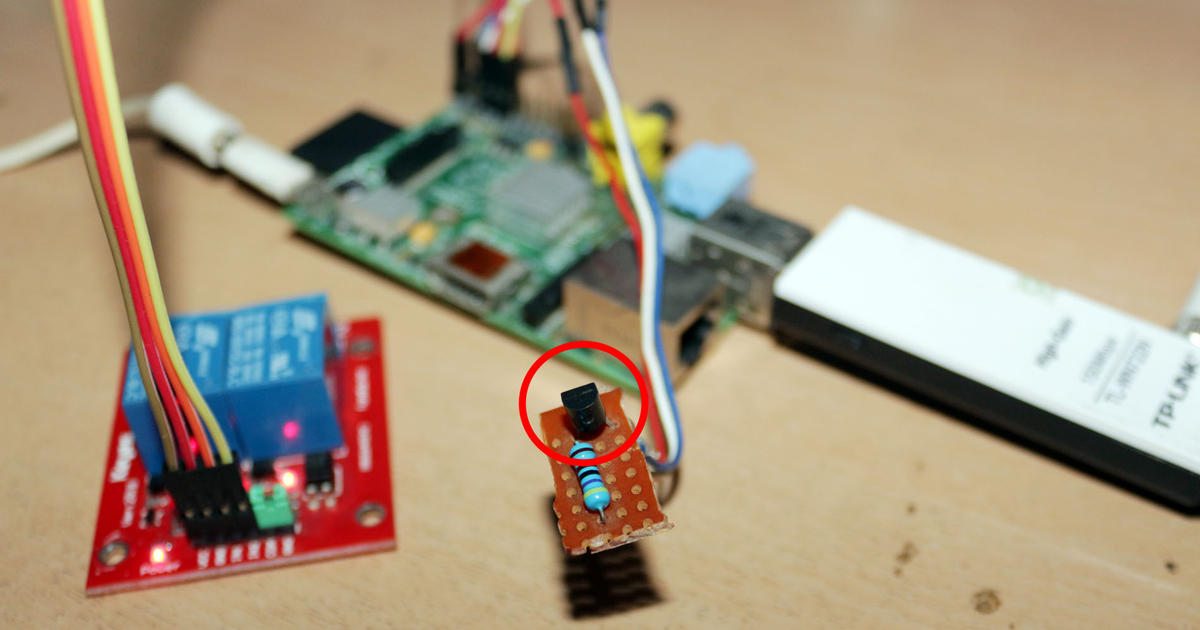 Interfacing Sensor Suhu DS18B20 di Raspberry Pi - Cover