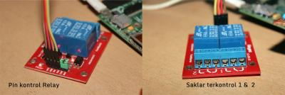 Modul Relay untuk Raspberry Pi