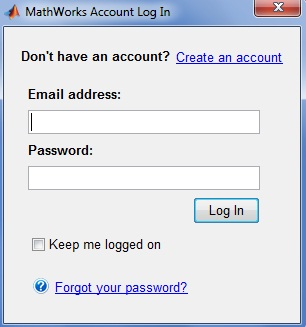 MathWorks Account Login