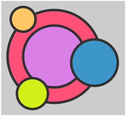 Processing Menggunakan fungsi fill() format RGB