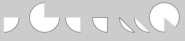 Processing menggambar busur