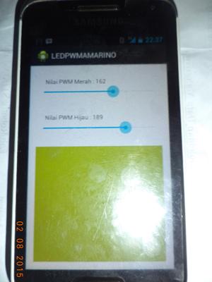 controh aplikasi kontrol lampu dengan android