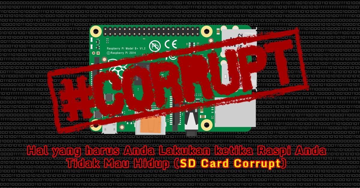 raspberry_corrupt_tidak_mau_hidup