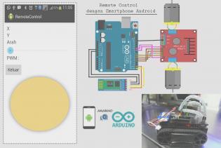 [Tutorial] Membuat Remote Control (RC) dengan Kendali Smartphone Android