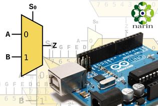 [TUTORIAL] Menggunakan Multiplekser (Multiplexer) 4051 pada Arduino