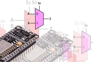 [TUTORIAL] Menggunakan Multiplekser pada ESP8266 (NodeMCU)