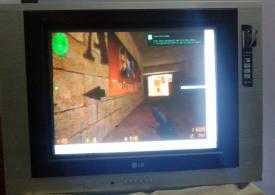 Main Counter Strike Condition Zero di TV Tabung