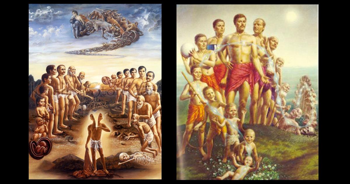 Kelahiran, Usia Tua, Penyakit, Kematian - Pergantian Tubuh Baru