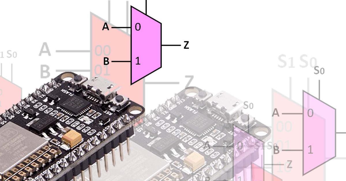 Multiplekser (Multiplexer) ESP8266 NodeMCU