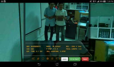 Gambar 4.18 Tampilan Preview Hasil Pengambilan Gambar