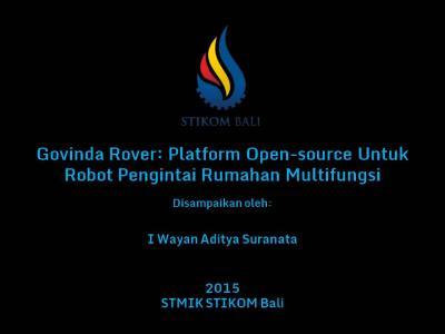 Presentasi Govinda Rover Mark 2 - Slide1