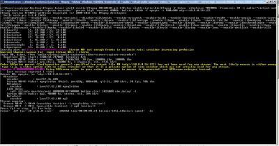 FFmpeg Windows 7 Desktop Stream