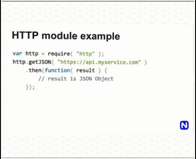 HTTP module: mudahnya membuat webservice baik dari web maupun native.