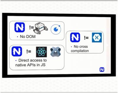 Perbandingan antara NativeScript dengan Phonegap, Ionic, Xamarin, React Native dan Appcelerator/Titanium.