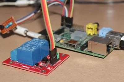 Raspberry Pi + 2 Relay Module + DS18B20