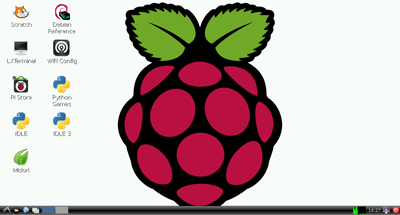 Raspbian Screenshot