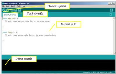 Tampilan Arduino IDE